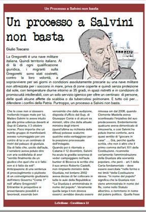 Immagine di Un processo a Salvini non basta